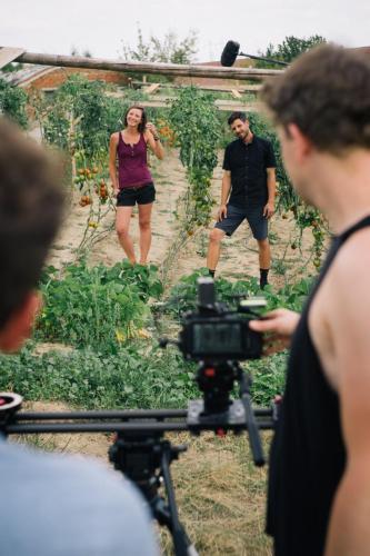 natáčení pro Farmářskou školu